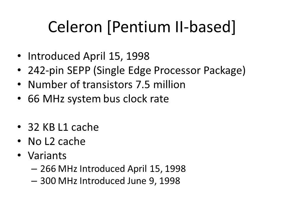 Celeron [Pentium II-based]